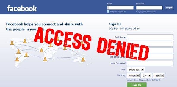 India Blocks 75% of Facebook Content
