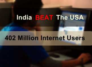 India Will Beat US by December 2015 Internet User Base 402 mn