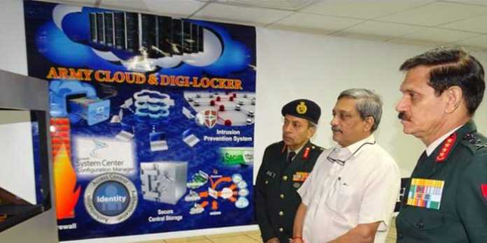 MoD Launched Army Cloud & Digi-Locker For Indian Army