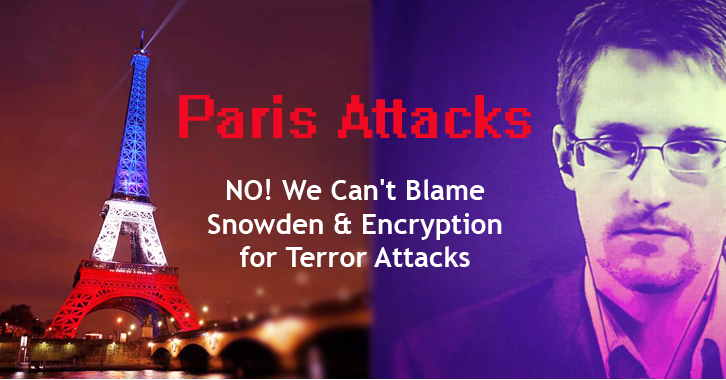 Paris Attack Blame On Edward Snowden And Encryption
