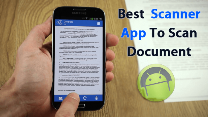 Top 10 Best Scanner Apps To Scan Document With Android