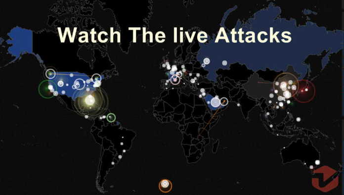 See 'Live' Telecast of Cyber Attacks From Every Corner of The World