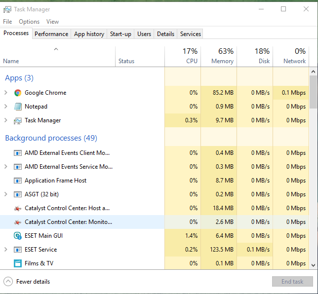 Using Windows 10 Data Usage Option