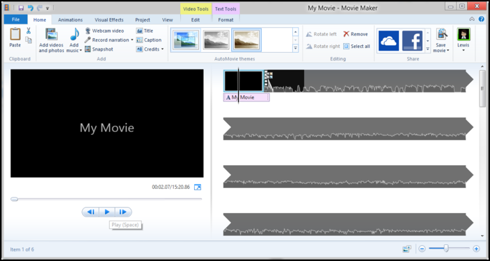Windows Movie Maker, Top 10 Video Editing Softwares For Windows