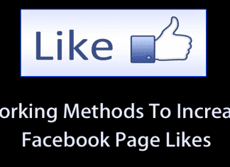 7 Working Methods To Increase Your Facebook Page Likes