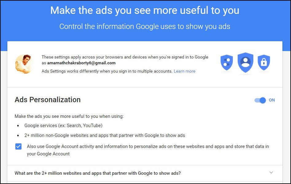 Google Ads You Clicked