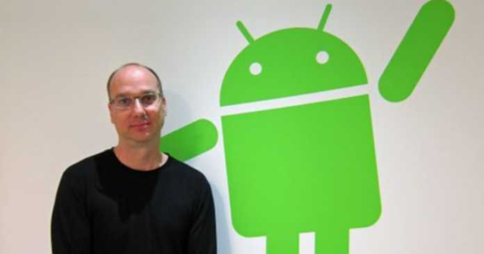 Android's Father Andy Rubin Wanted to Start Smartphone Company