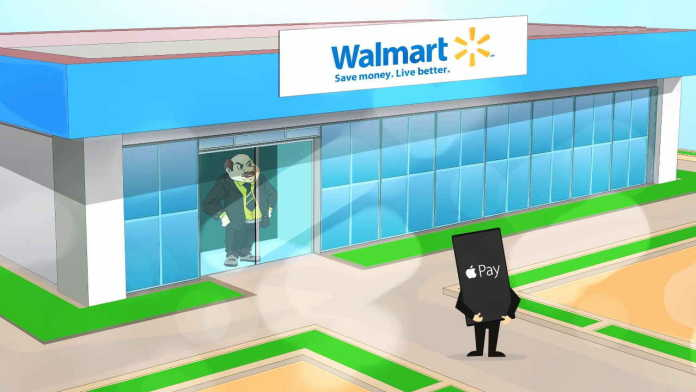 Apple React Wal-Mart Rejects Using 'Apple Pay' Payment System