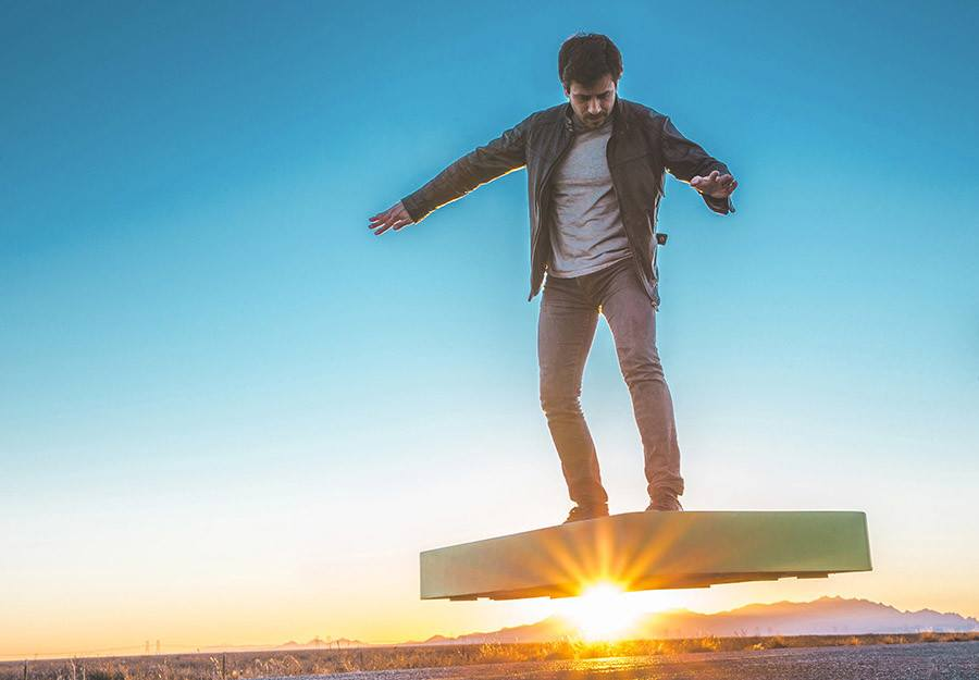 ArcaSpace Presents a Hoverboard Costs $ 20,000 For 6 Minutes of Battery