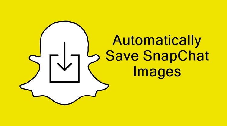 how to automatically save snapchat images in android