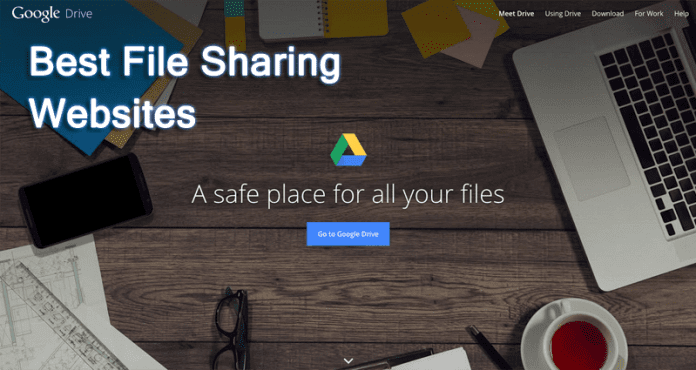Best File Sharing Websites To Share Large Files Online 2018