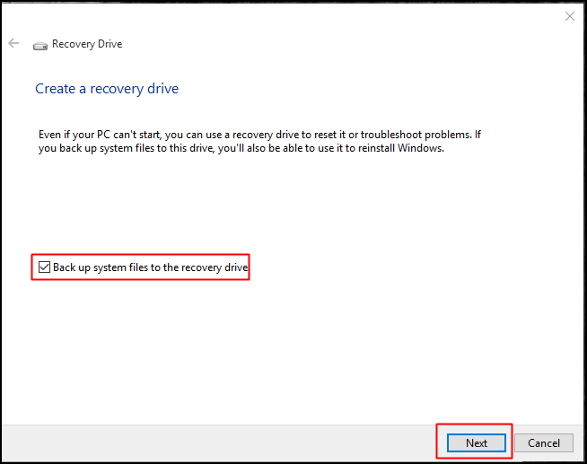 How To Create A Windows 10 Recovery Drive/Disk