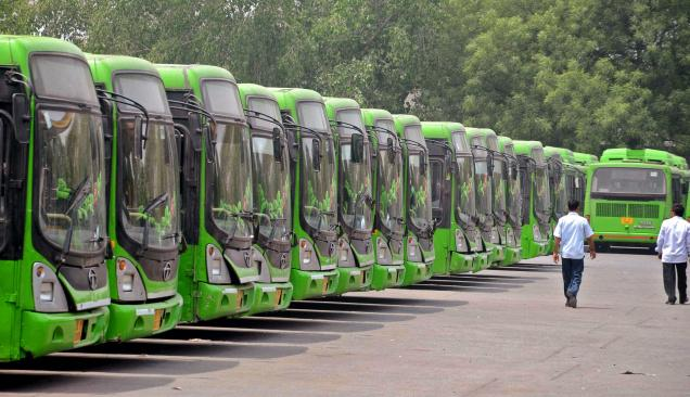 Delhi Government Launches Wi-Fi Enabled in Six New Buses