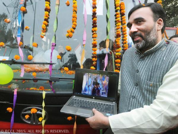 Le gouvernement de Delhi lance le Wi-Fi activé dans six nouveaux bus