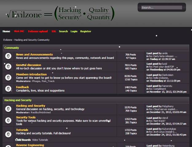 EvilZone Hacking Forums