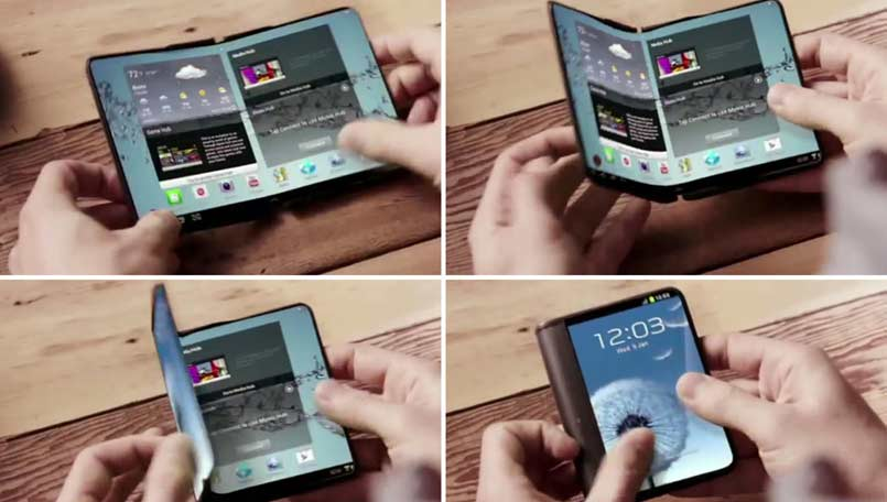 Foldable And Flexible Smartphone From Samsung In January 2016