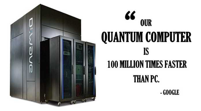 Google's D-Wave 2X Quantum Computer 100 Million Times Faster Than a PC