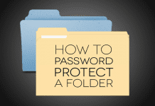 How to Create a Password Protected Folder Without Any Software