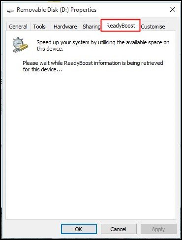 Using ReadyBoost In Windows 7, 8, 10
