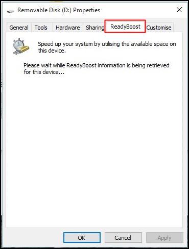 Using ReadyBoost In Windows 7, 8, 10