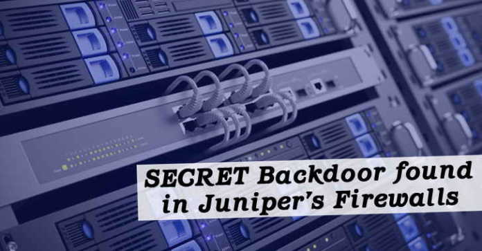 Juniper Warns of Spying Code in Firewalls With ScreenOS Backdoored