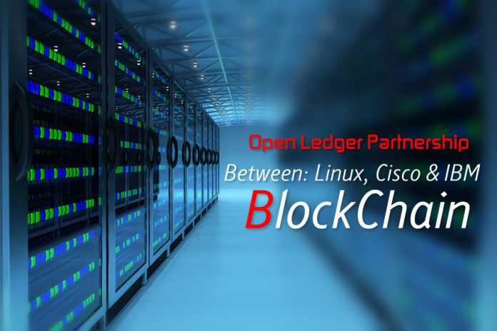 Linux, Cisco And IBM Developing Open Source Blockchain