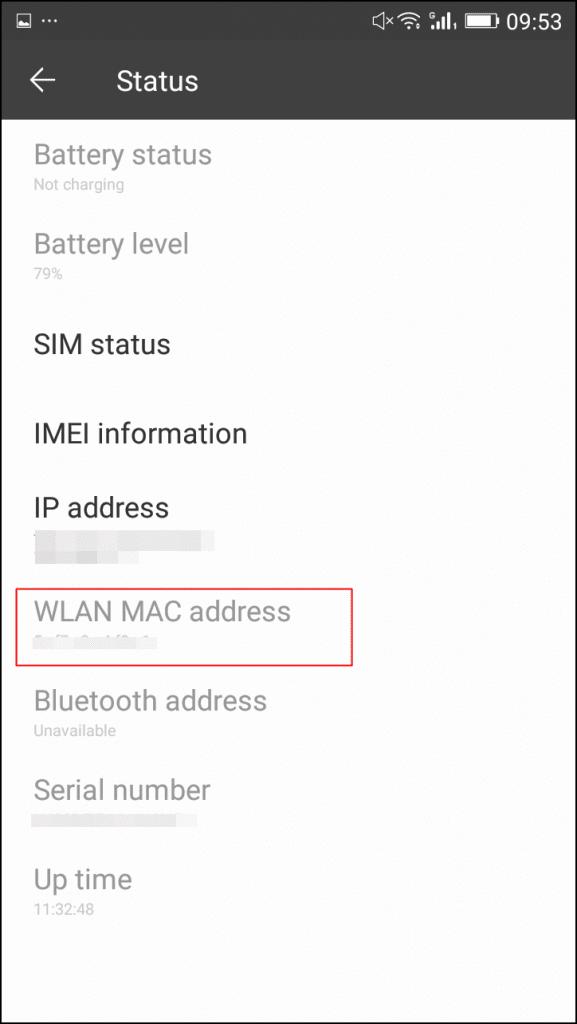 Hack Whatsapp by MAC Spoofing