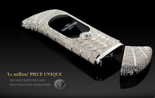 Most Expensive Smartphones- GoldVish Le Million