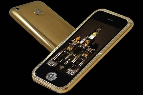 Most Expensive Smartphones-Supreme Goldstriker iPhone 3G