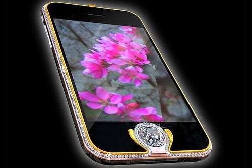Most Expensive Smartphones- iPhone 3G King's Button