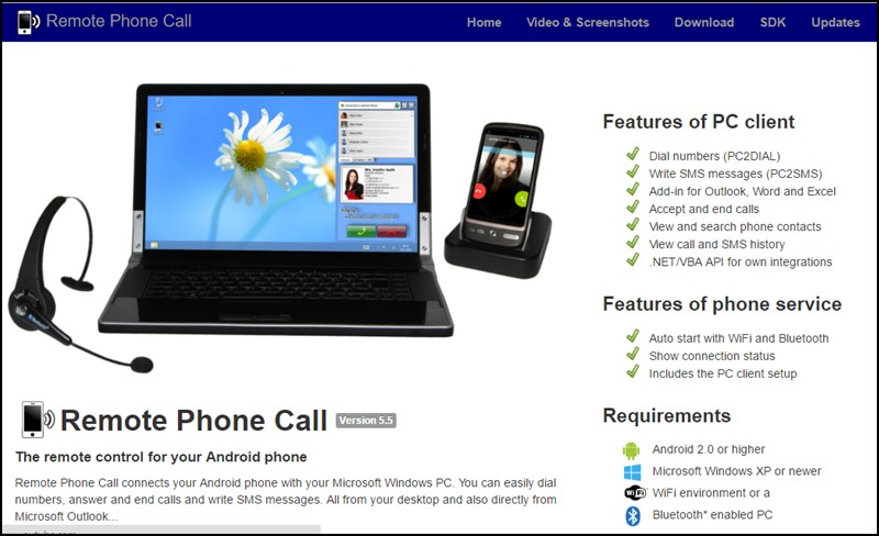 Download and install CallCentre on PC