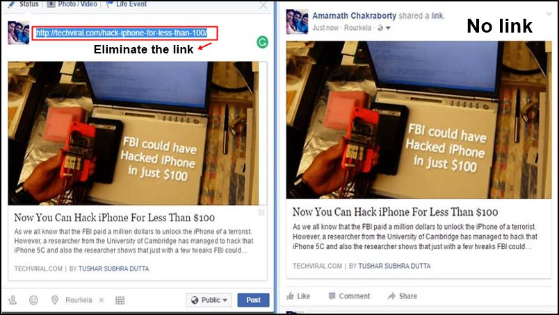 Facebook Sharing Actually Works Different