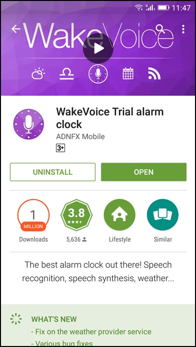 Stop Android Ringing Alarm With Your Voice