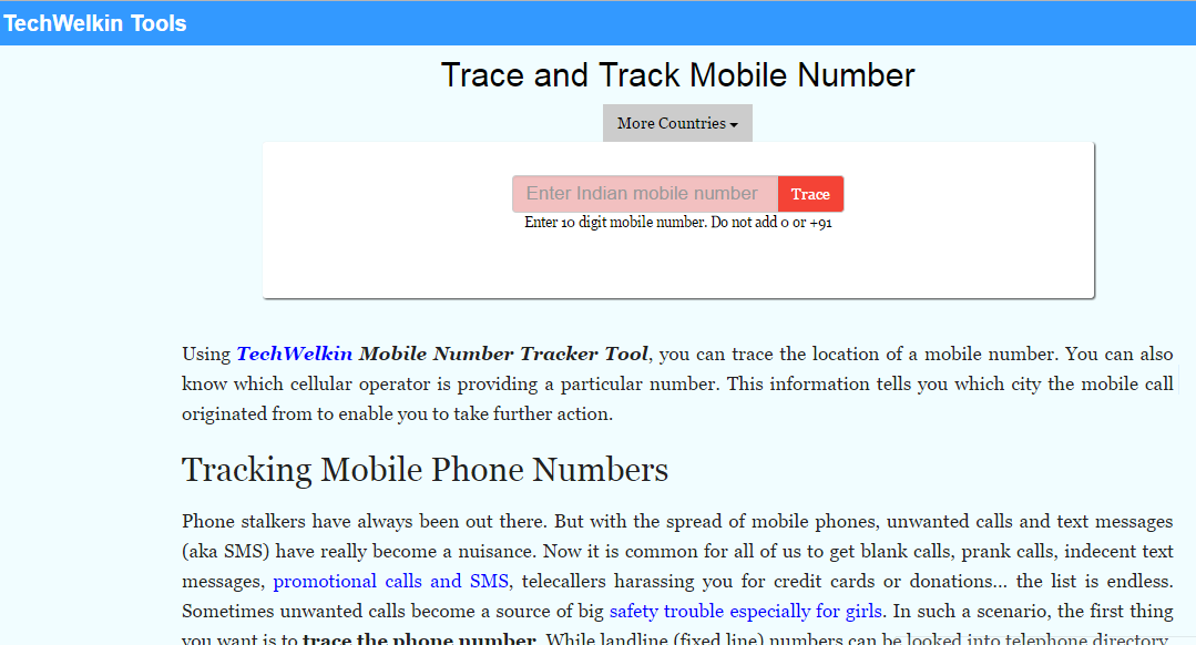 how to trace phone number with name and address 2018