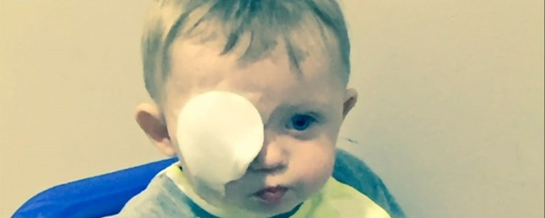 Terrible Accident With Drone Baby Ends With Losing An Eye
