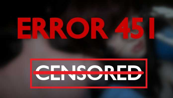The HTTP 451 Error To Indicate a Censored By Your Government
