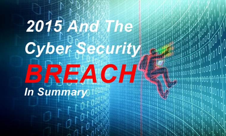 Top 6 2015 Cyber Security Breach Made The Year For Hackers