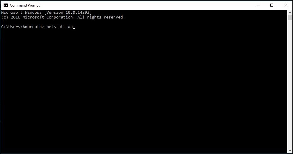 Tracing IP Address Of Person On Facebook Chat Using Command Prompt