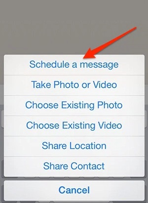 Whatsapp messages scheduling 1
