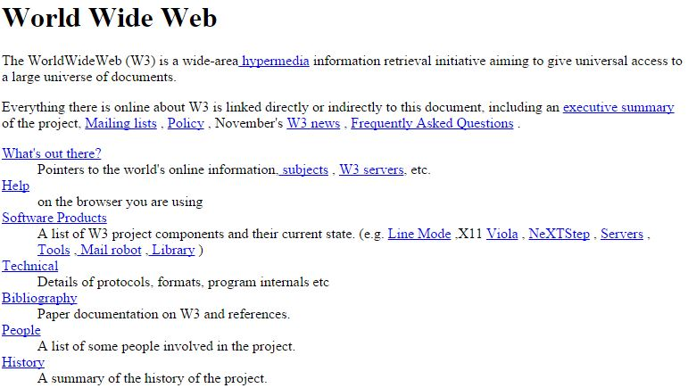 World's First Website Came Online Again After 25 Years