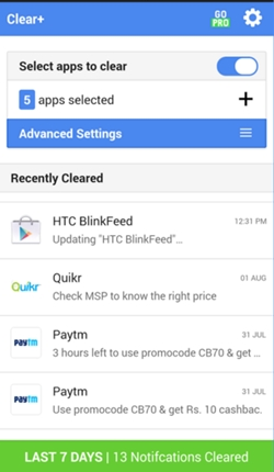 clear notification 2