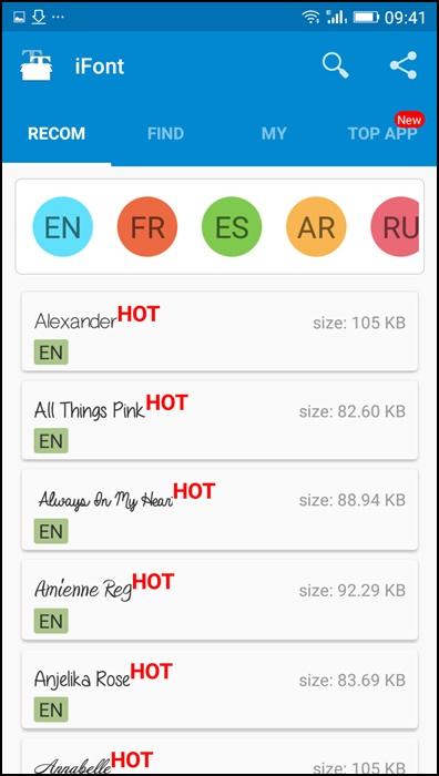iFont : Cara Mengubah Font di Android