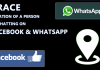 Trace Location Of A Person By Chatting on Facebook & WhatsApp