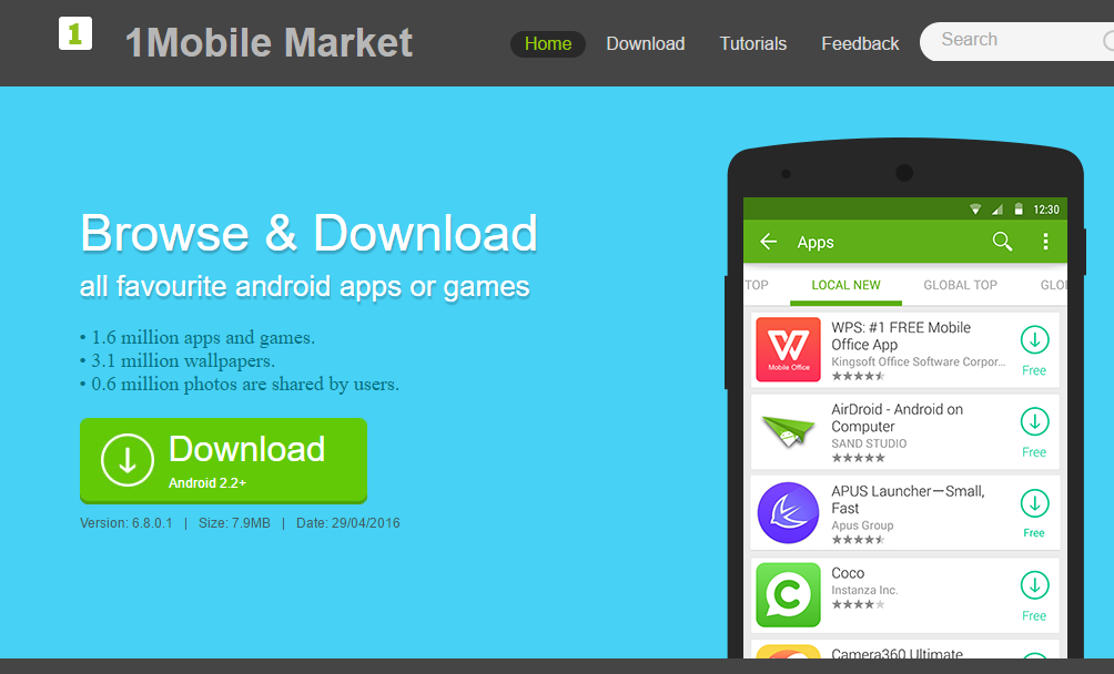 free download android apps and games for mobile