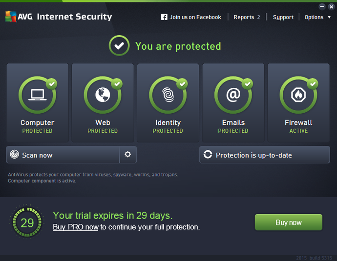 Having an Anti-Virus and Internet Security