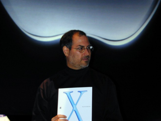 Apple Mac OS X Steve Jobs