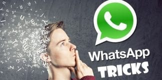 Best Whatsapp Tricks and Whatsapp Hacks 2018