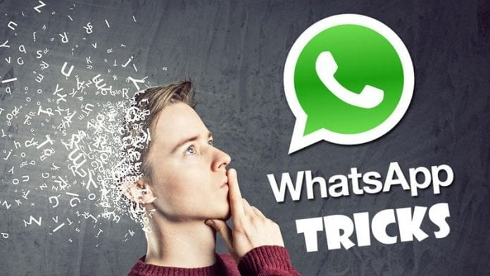 Best Whatsapp Tricks and Whatsapp Hacks 2019
