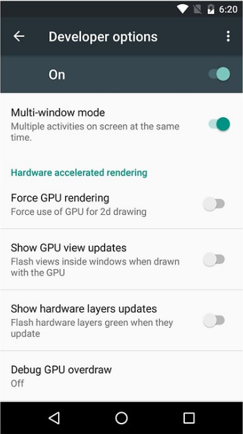 Enable Multi Window Feature In Android 6.0