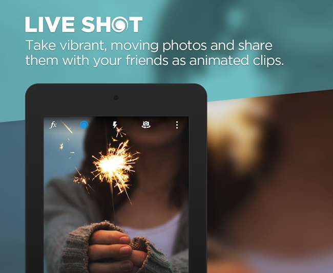 Capture Live Photos In Android